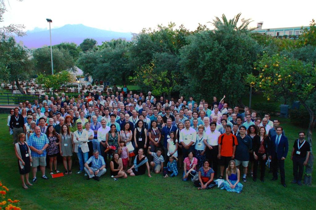 """Participants à la conférence """"Advancing Astrophysics with the SKA"""" en 2014"""