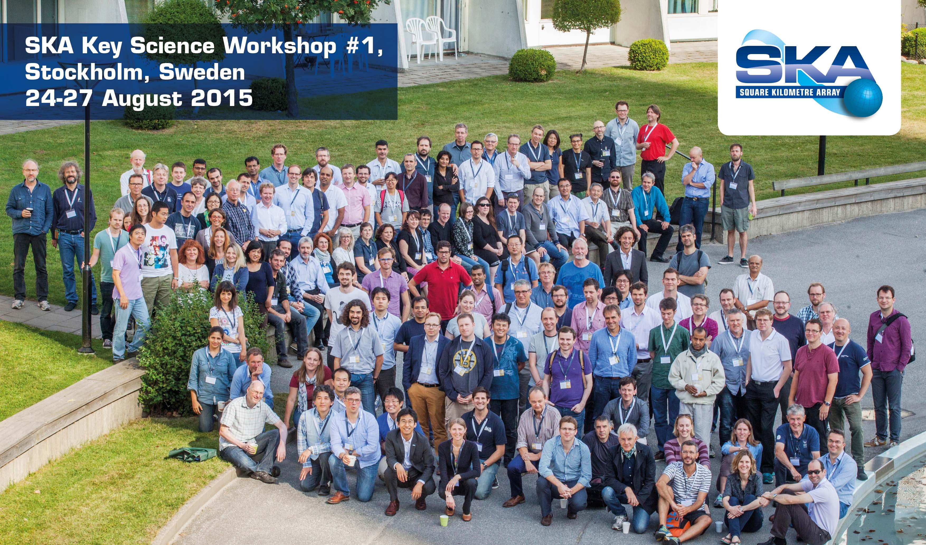 """Participants à la conférence """"The SKA Key Science Workshop"""" en 2015"""